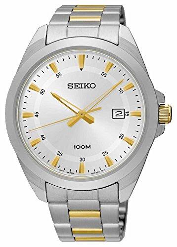 SEIKO-SUR211P1Mens-DateHardlex-CrystalBrand-New100m-WRSUR211