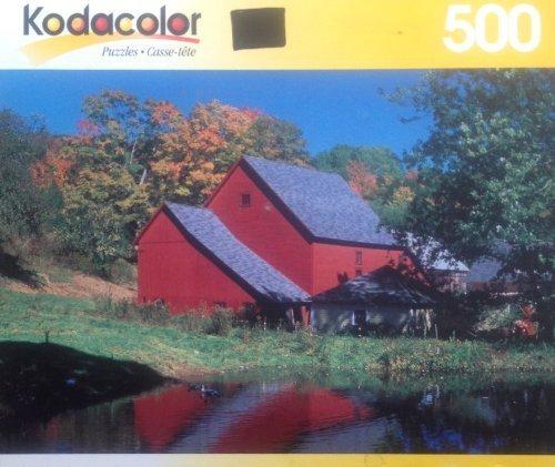 North Pomfret, Vermont 500 Piece Puzzle by Kodacolor