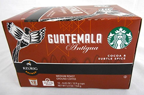 Starbucks Coffee Guatemala Antigua K-cups - 12 ct (Guatemala K Cup Coffee)