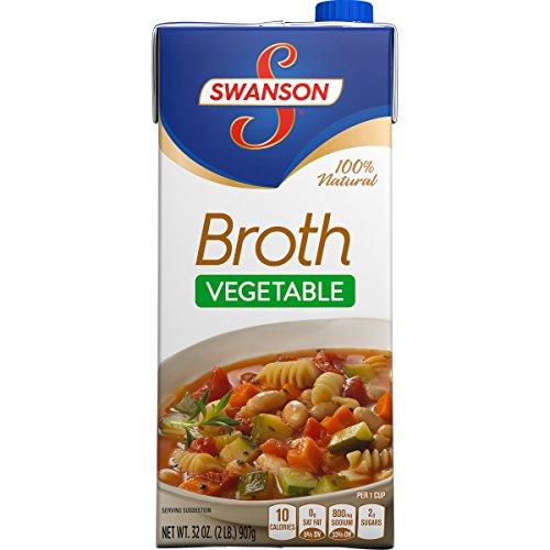 Swanson Broth Vegetable 32 Ounce