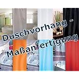 rideau de douche choix de longueur à souhait / fabrication sur mesure / 6 couleurs éligible