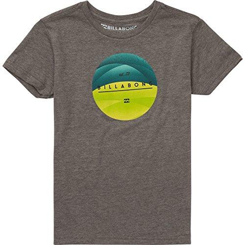 Billabong Little Boys' Kids Pulse Short Sleeve T-Shirt, Dark Grey Heather, 6L