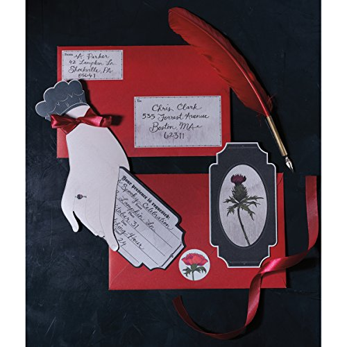 Martha Stewart Crafts Halloween Invitation Kit, Gothic Manor ()