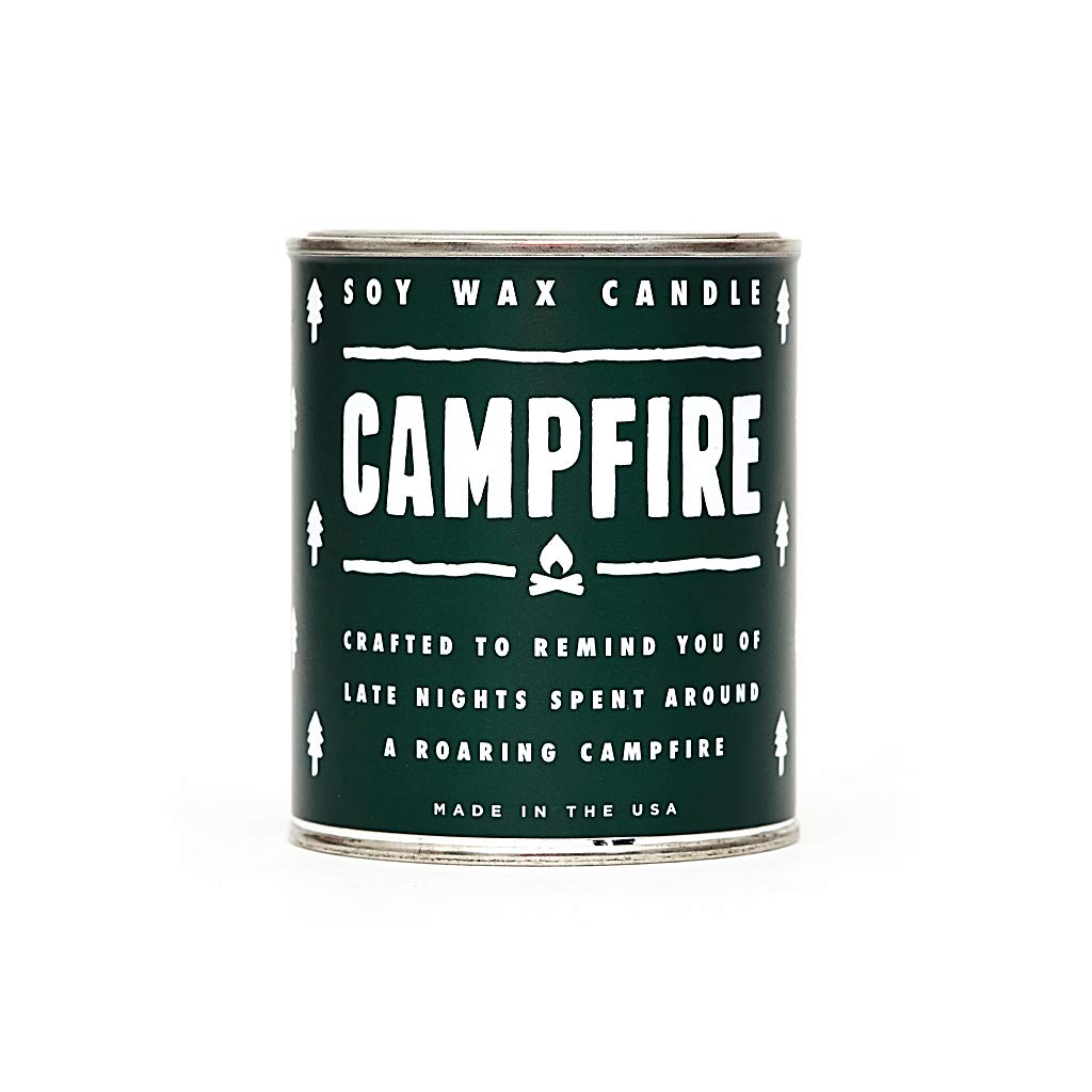 Campfire Candle - Wood/Camp Fire/Smoke Scented Candle