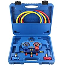 DPL TOOLS New Environmental Protection Manifold Gauge Set Aluminum Valve Body MST-R1234YF