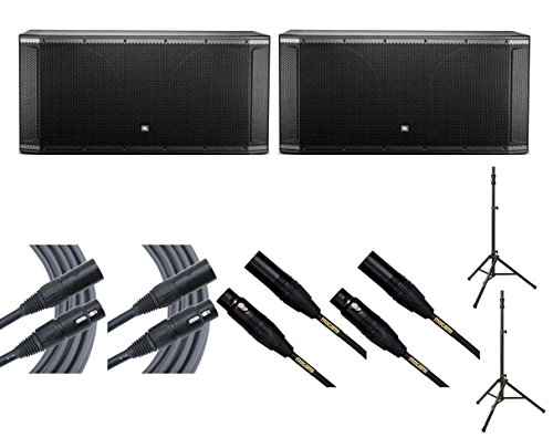 2x JBL SRX828SP + Ultimate TS-100B + Mogami Cables from JBL