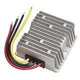 DROK Club Car Golf Car DC Voltage reducer 36V 48V to 12V 20A Voltage Step Down Buck Converter Battery Power Supply Volt Regulator Transformer