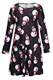 Kyпить LaSuiveur Girl's Unisex Ugly Christmas Santa Claus Xmas Long Sleeve Dress на Amazon.com