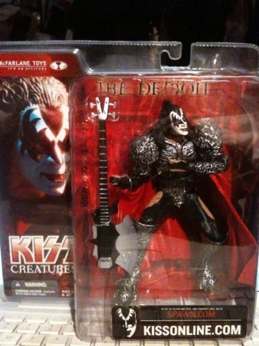 [McFarlane Toys, KISS Creatures Gene Simmons (The Demon) Action Figure, 6.5 Inches] (Abe Froman Costume)
