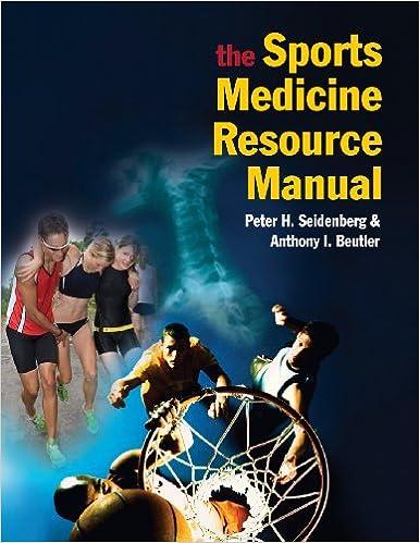 Book The Sports Medicine Resource Manual, 1e