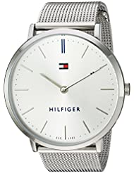 Tommy Hilfiger Womens Sophisticated Sport Quartz Stainless Steel Watch, Color:Silver-Toned (Model: 1781690)
