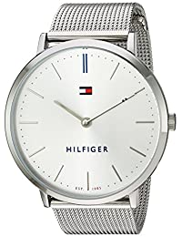Tommy Hilfiger Women's 'Sophisticated Sport' Quartz Stainless Steel Automatic Watch, Color: Silver-Toned (Model: 1781690)