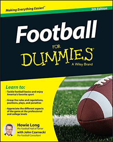 Football For Dummies cover