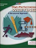 High-Performance Writing: a Structured Approach, Terry Dodds, 0076004473