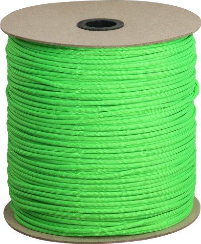 Parachute Cord Lime Green.
