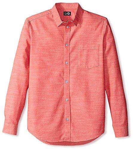 cheap-monday-mens-neo-chambray-shirt-sexy-red-xs