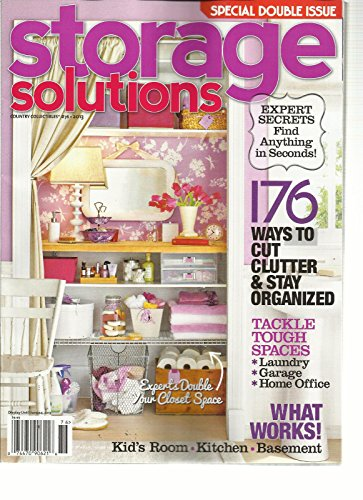 Storage Solutions, 2013 Special Double Issue, Country Collectibles # 76 2013