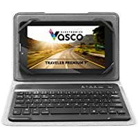 Vasco Traveler Premium 7 with Keyboard, Voice Translator, GPS Navigation, Device for Travellers