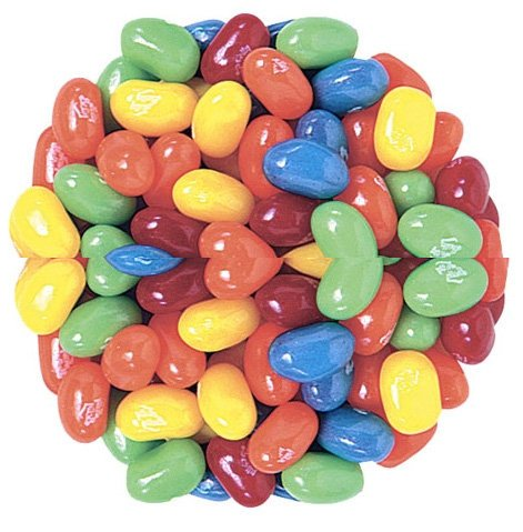 Jelly Belly Sour Jelly Beans, 5 Flavor Mix, 10-Pound Box