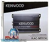 Kenwood KAC-M1814 4-Channel Compact Bridgeable