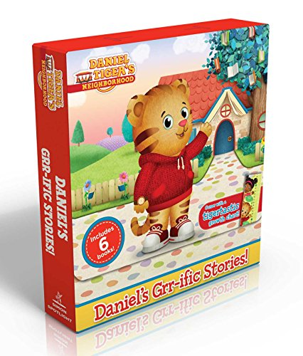 Chart Tiger - Daniel's Grr-ific Stories! (Comes with a tigertastic growth chart!): Welcome to the Neighborhood!; Daniel Goes to School; Goodnight, Daniel Tiger; ... Baby Is Here! (Daniel Tiger's Neighborhood)