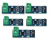 Baoblaze Pack of 5Pcs 30A Range Current Sensor Module ACS712 Module Board