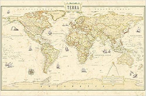 Columbus Terra Renaissance Weltkarte 9783871299575 Amazon Com Books
