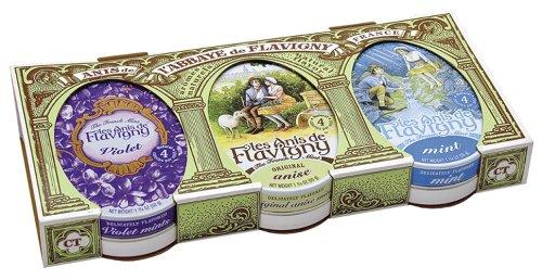 Les Anis de Flavigny Candy Gift Set (Anis, Mint, Violet)