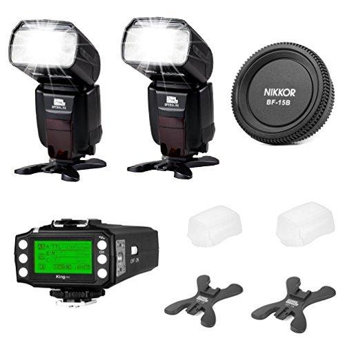 ピクセルETTL HSSフラッシュSpeedlit x800 C / x800 N Proフラッシュキットfor Canon Nikon DSLR 2#X800N PRO KITの商品画像