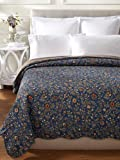 C & F Enterprises Wakefield Collection Floral Fields Quilt, Multi, King