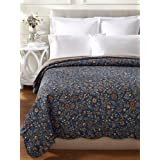 C&F Home Wakefield Collection Floral Fields Quilt, Multi, King