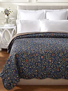 C & F Enterprises Wakefield Collection Quilt, 90 by 90-Inch