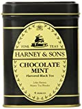 Harney & Sons Loose Leaf Black Tea, Chocolate Mint, 4 Ounce