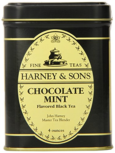 - Harney & Sons Loose Leaf Black Tea, Chocolate Mint, 4 Ounce