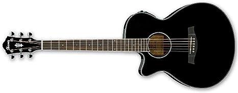 Ibanez aeg10ii Cutaway Guitarra Electroacústica: Amazon.es ...