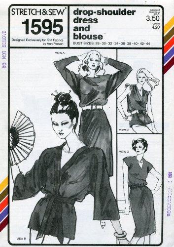 Buy belted dolman knit dress - 7
