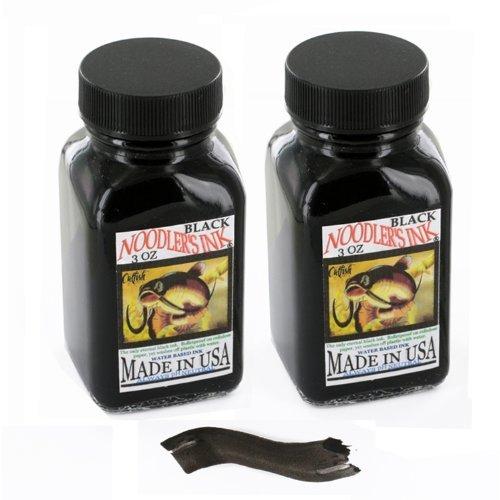 Noodler's Ink Fountain Pen Bottled Ink, 3oz, Black - Pack of 2 by Noodler's (Image #1)