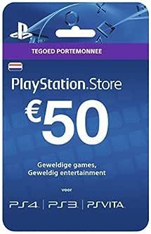 Amazon.com: $50 PlayStation Store Gift Card - PS3/ PS4/ PS Vita Digital Code: Video Games