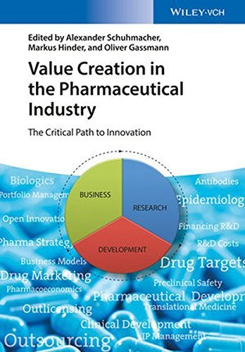 Value Creation in the Pharmaceutical Industry: The Critical Path to Innovation by Alexander Schuhmacher (2016-04-11)