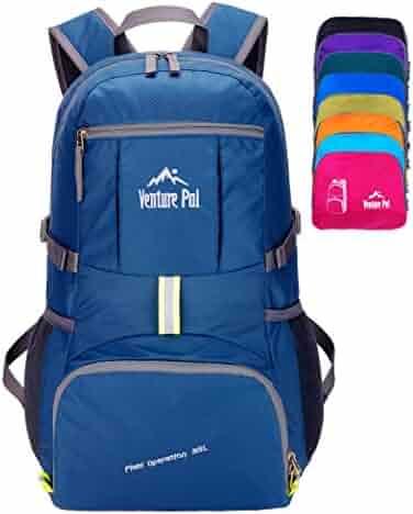 Venture Pal Travel Backpack - Durable Packable Lightweight Backpack for Women Men