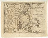 Historic Map | 1796 A map of Massachusetts, from the best authorities | Antique Vintage Reproduction