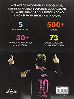 Messigráfica: Historia ilustrada del mejor futbolista del mundo ...