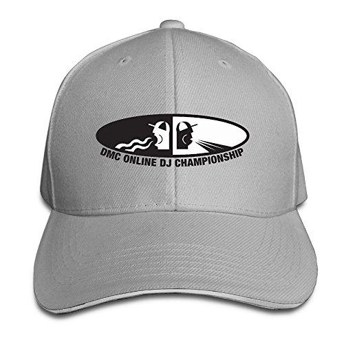 POPYol DMC Online DJ Championship Adjustable Peaked Baseball Caps Hats For Unisex