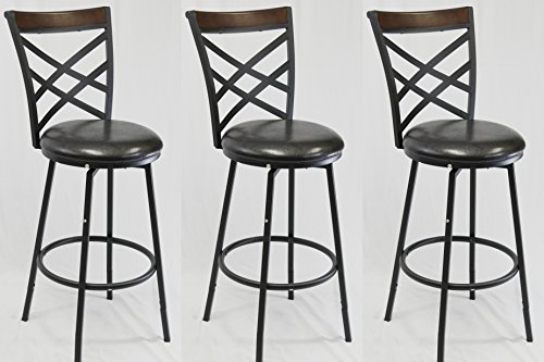 Double Backless Stool - 4