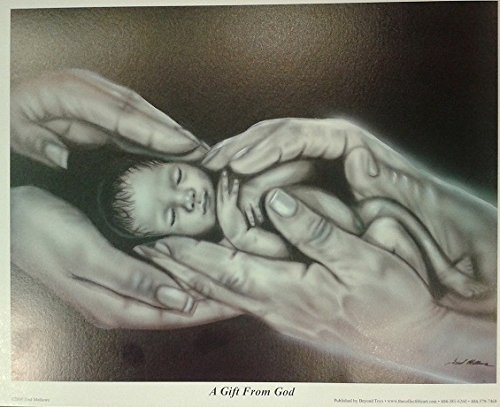 A Gift From God by Fred Mathews Lithograph Print Open Edition Brand New On Sale
