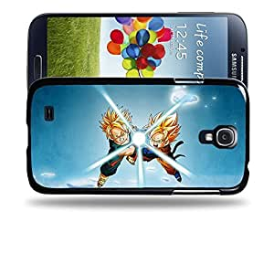 meilz aiaiCase88 Designs Dragon Ball Z GT AF Son Goku Super Saiyan Goten & Trunks Kamehameha Protective Snap-on Hard Back Case Cover for Samsung Galaxy S4meilz aiai