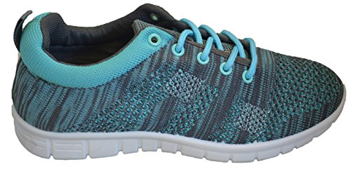 - Women's Sneakers Go Walk Lightweight Knitted Athletic Casual Walking Shoes Slip-On 8 Mint Green