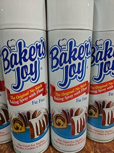 Baker's Joy No Stick Baking Spray 12 Oz (12 Pack) by Baker's Joy
