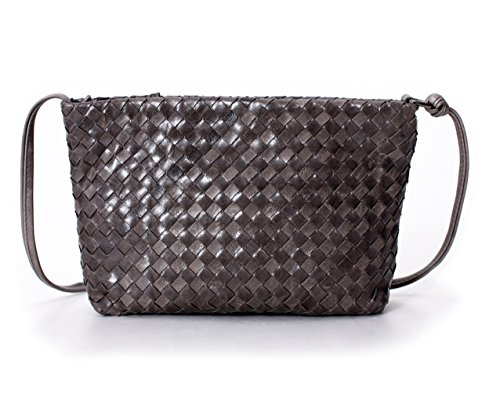 Woven Leather Handbags - 3