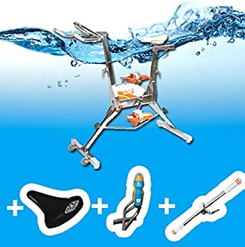 Aquabike WR5 selle confort-Barra para botella de botella: Amazon.es: Jardín